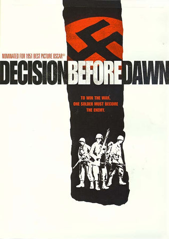 Decision Before Dawn DVD Movie