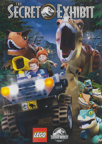 The Secret Exhibit (LEGO Jurassic World) DVD Movie