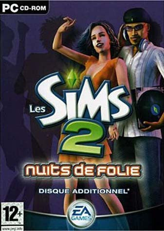 Les Sims 2 - Nuits de Folie (French Version Only) (PC) PC Game