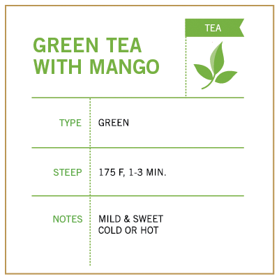 Green Tea with Mango