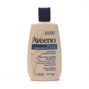 Aveeno Anti Itch Concentrated Lotion 4 oz.