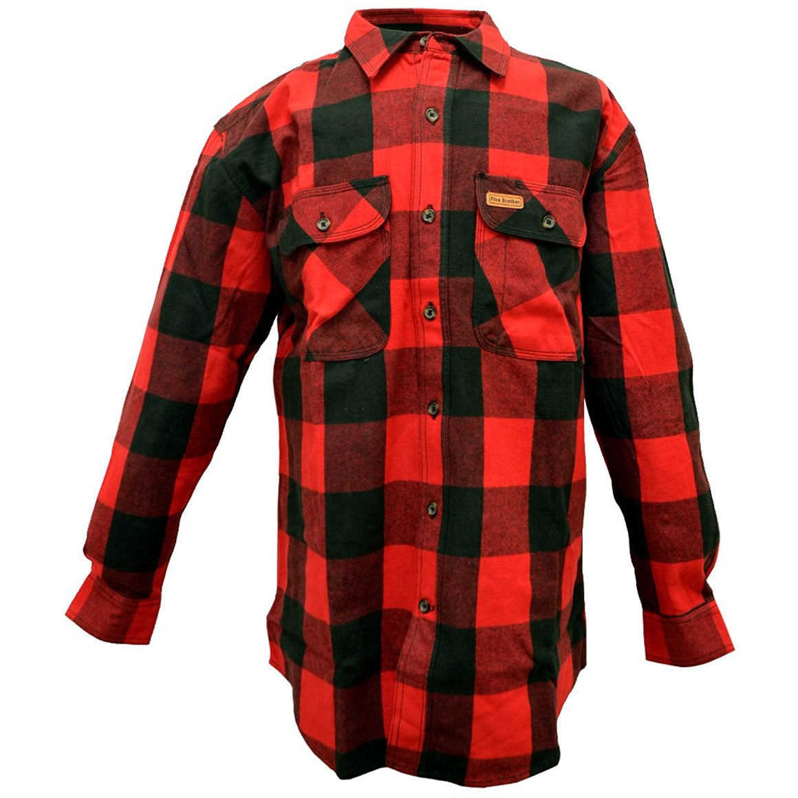 Buffalo Flannel Plaid Hickory Shirt