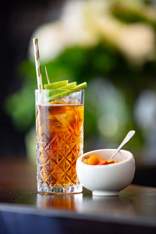 Enjoy a cool, refreshing glass of iced tea!