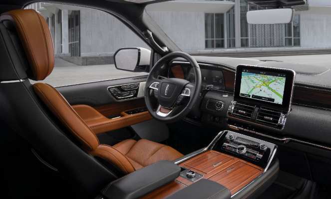 The 2020 Lincoln Navigator Interior View