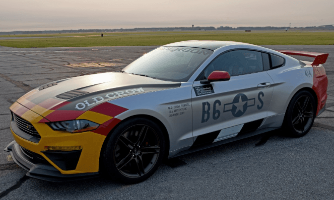 ONE-OF-A-KIND 'OLD CROW' MUSTANG GT TO BE AUCTIONED FOR EAA AVIATION PROGRAMS AT AIRVENTURE 2019