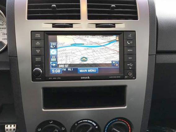 2009-2010 Dodge Caliber GPS Navigation RER 730N Radio