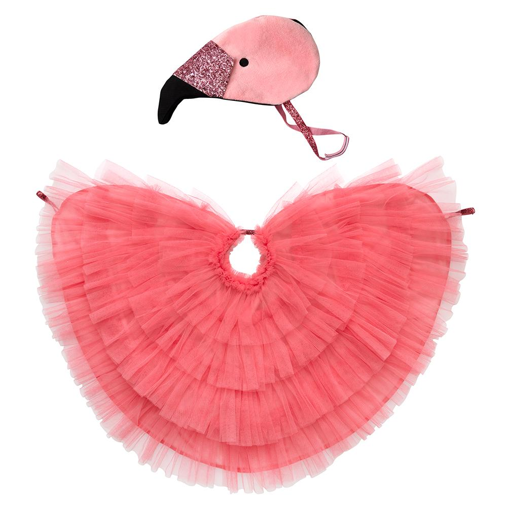 Flamingo Cape Dress Up Kit