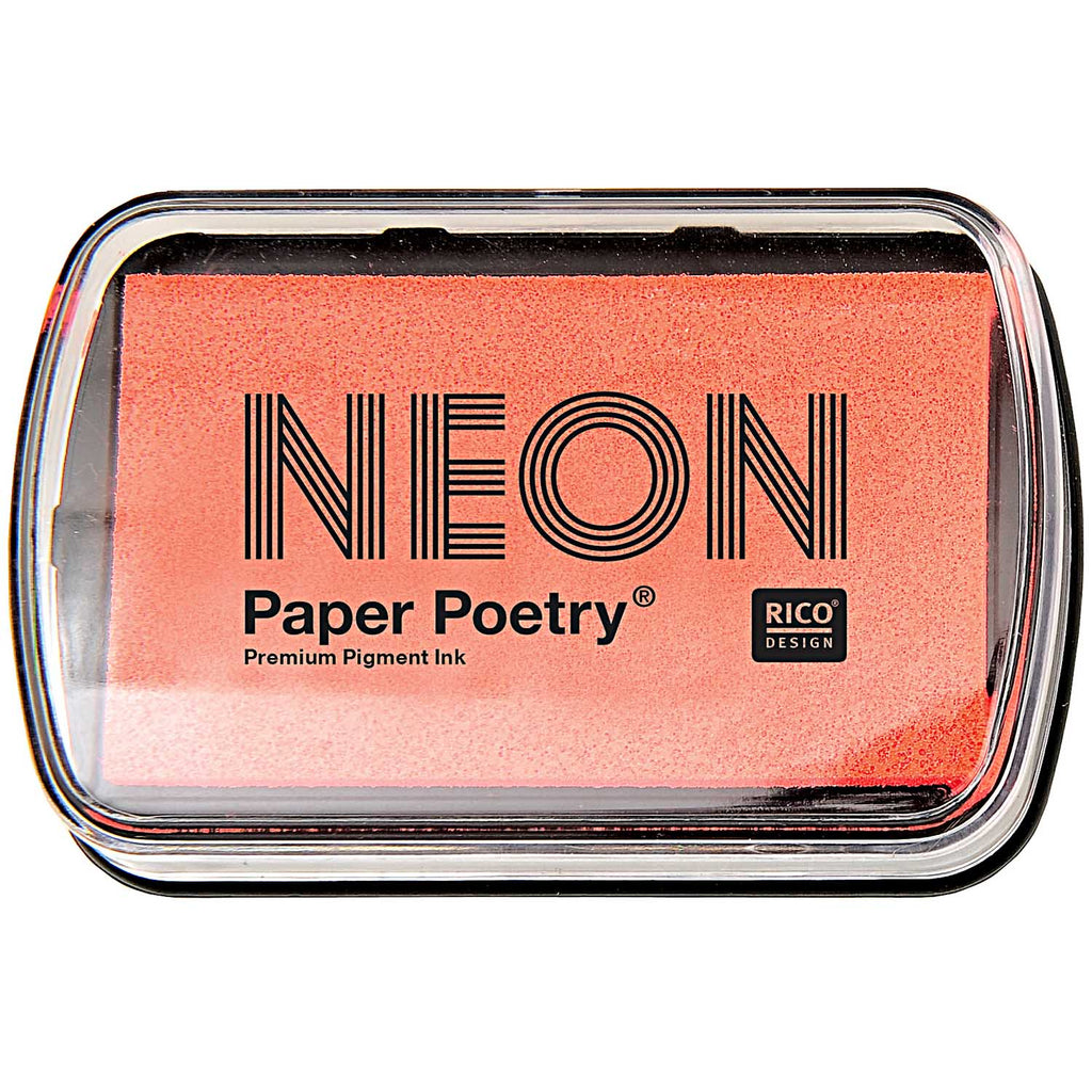 Neon Ink Pad - Red