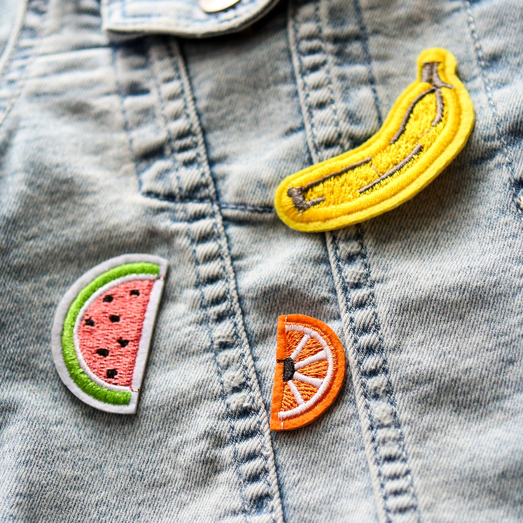 Fruity Iron On Patch Set