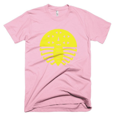 Jad Fair Leggy Thing Pink/Yellow Unisex Tee