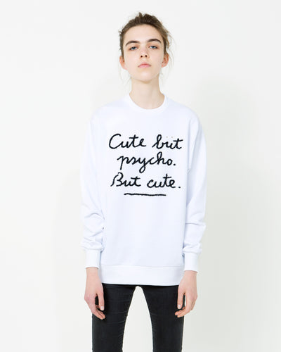 CUTE BUT PSYCHO, Unisex Sweatshirt - ONETSHIRT