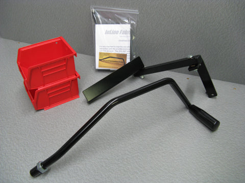 "#2 Combo kits for the Hornady lock n load AP with ERGO roller lever and the ""Skylight"" LED kit."