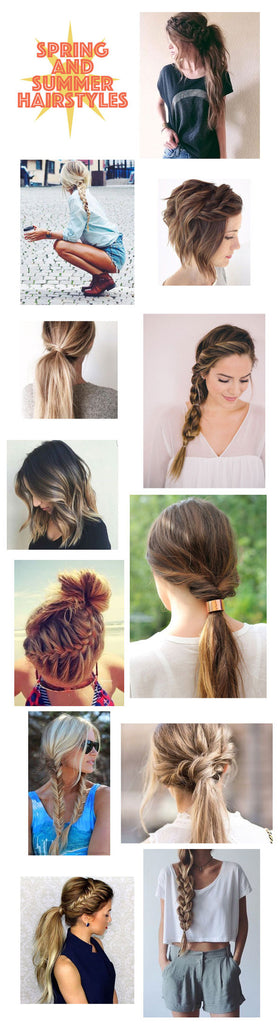 Spring and Summer Hair Inspiration