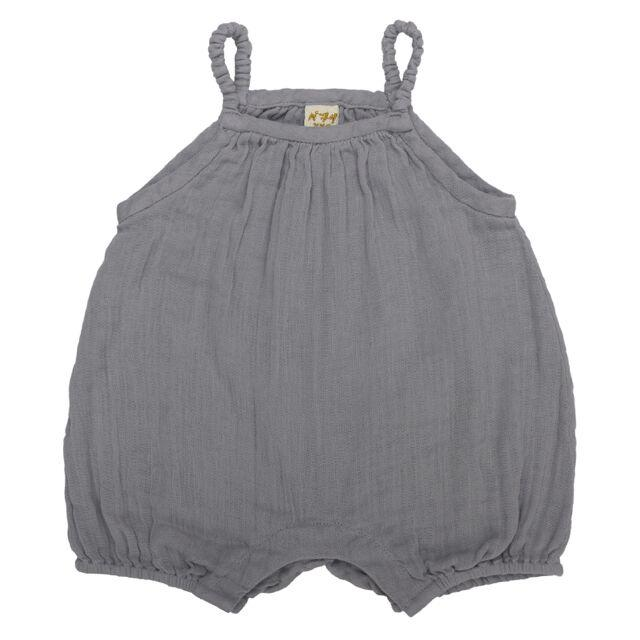 Numero 74 Lolita Romper Stone Grey - Tiny People Cool Kids Clothes Byron Bay