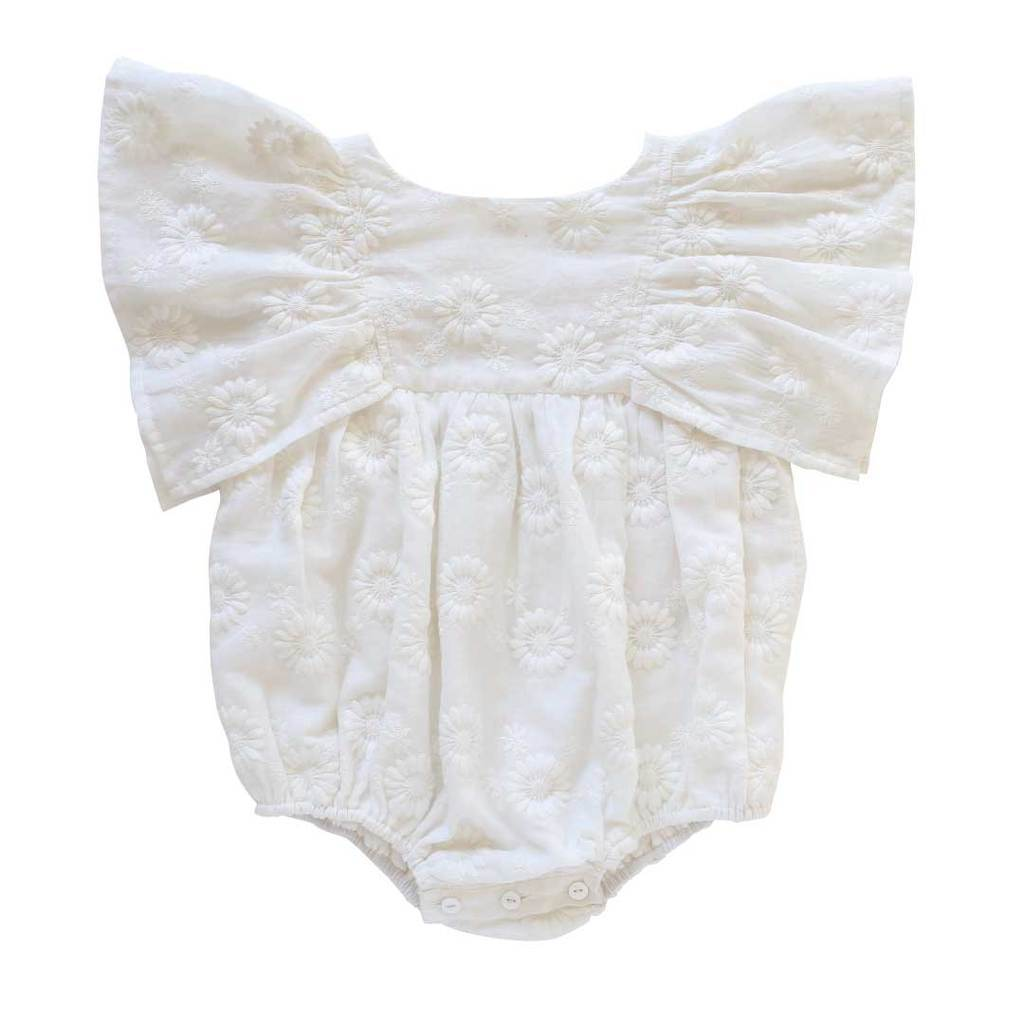 Daphne Playsuit Marguerite Broderie Anglaise