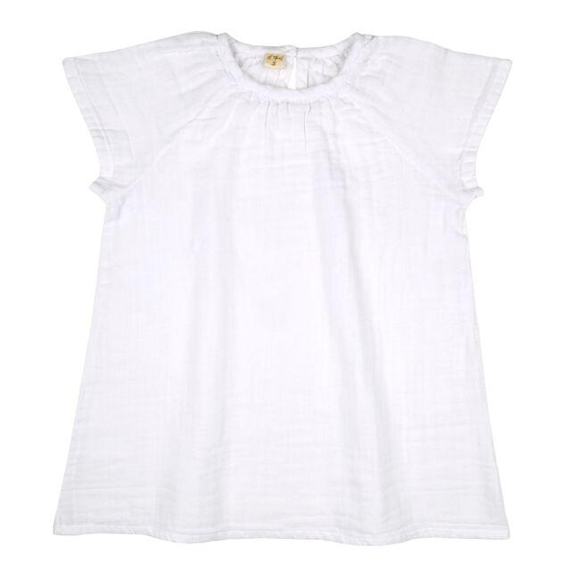 Numero 74 Clara Dress White - Tiny People Cool Kids Clothes Byron Bay