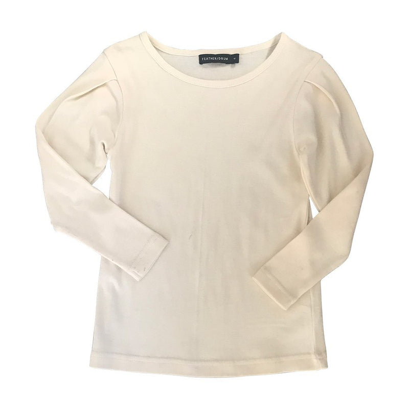 Piper Long Sleeve Tee Cream