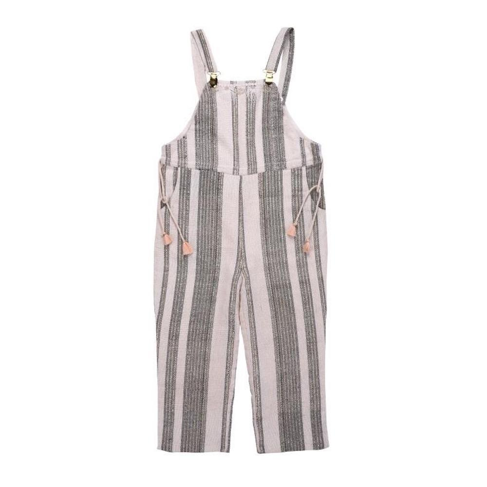 Louise Misha Kingston Overalls Cream Stripe at Tiny People Shop Australia.