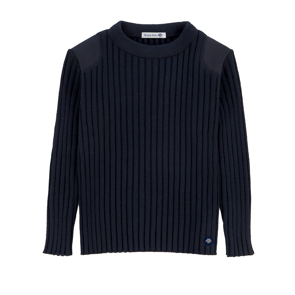 Military Sweater Navy