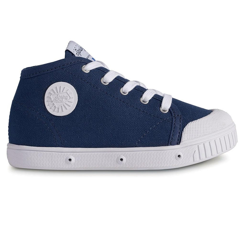 Spring Court Classic Canvas High Top - Tiny People Cool Kids Clothes Byron Bay