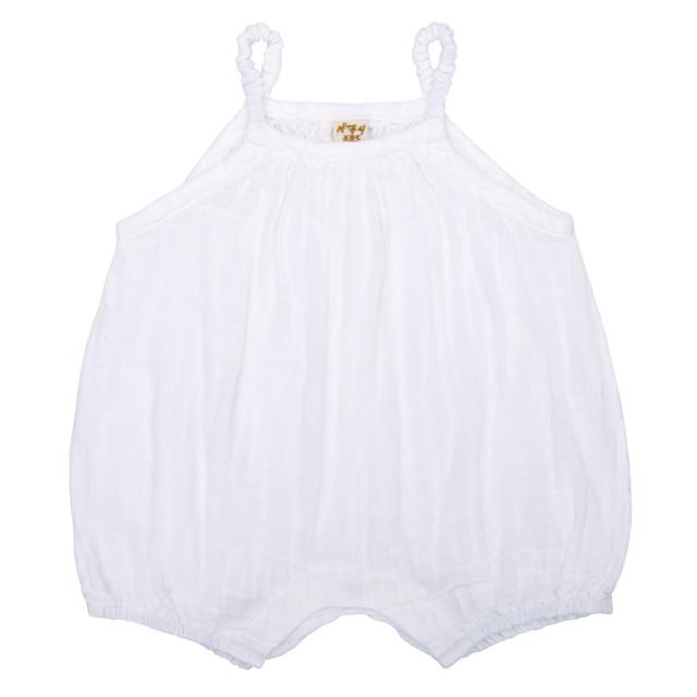 Numero 74 Lolita Baby Romper White - Tiny People Cool Kids Clothes Byron Bay