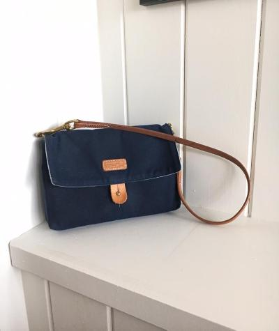 ATM - Andover Trask Mini - solid waxed Navy