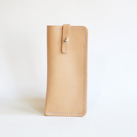 leather spectacle case - Richmond - bril etui - studio ROWOLD