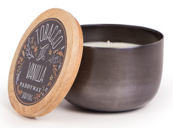 Padywax- 12oz Foundry Candle- Silver - Archer + Co