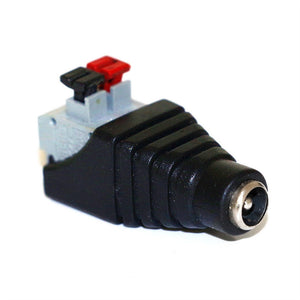 DC Quick Clamp Terminal Block DC Barrel Male