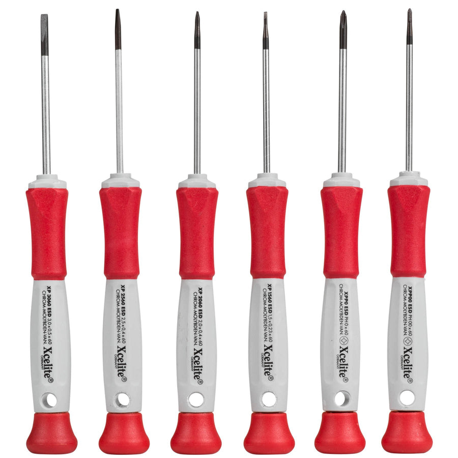Xcelite XP600 Precision Screwdriver Kit - Moss LED