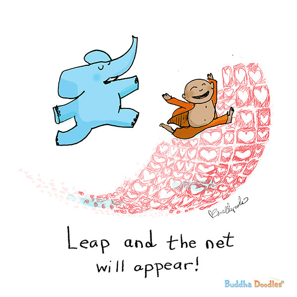 Today's Doodle: Leap and the net will appear!