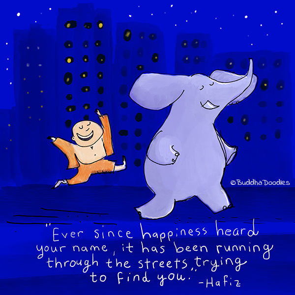 Today's Doodle: Ever Since Happiness Heard Your Name...