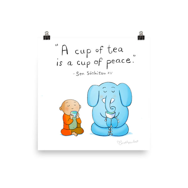 Art Print: A Cup of Peace