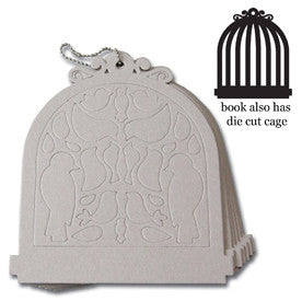 Maya Road Birdcage Chipboard Book - sugar and spice crafts