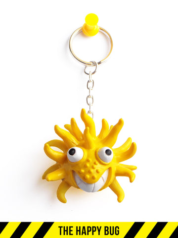 The Happy Bug Keychain
