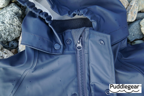 Puddlegear Rainjacket in Navy Blue