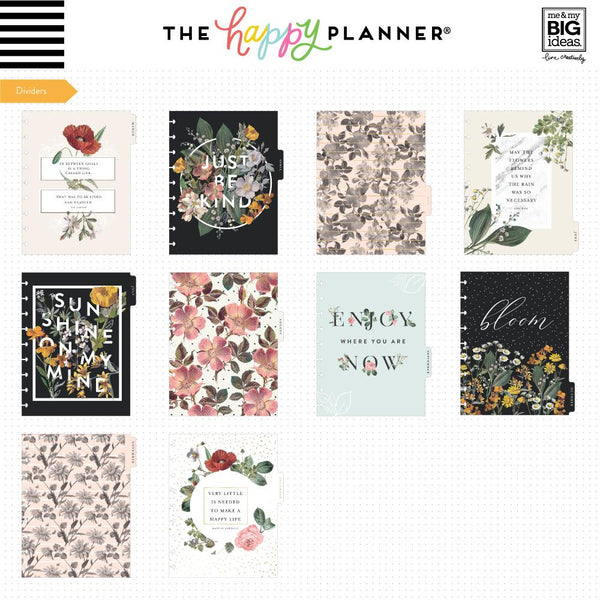 Classic Happy Planner® - Vintage Botanical - 18 Months (2019-2020)