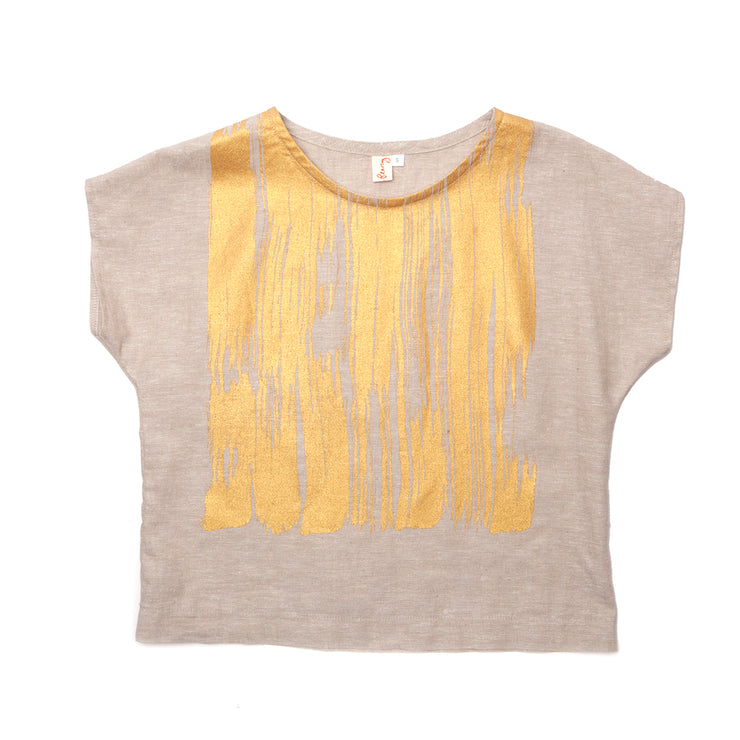 Ida Top -'Brushstroke'