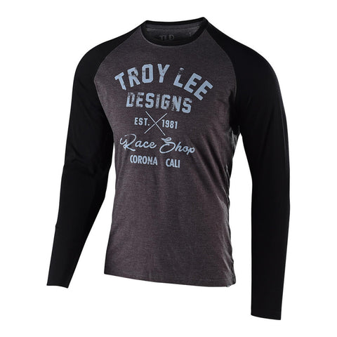 Troy Lee Designs Men's Vintage Race Shop Long Sleeve Graphic T-Shirt