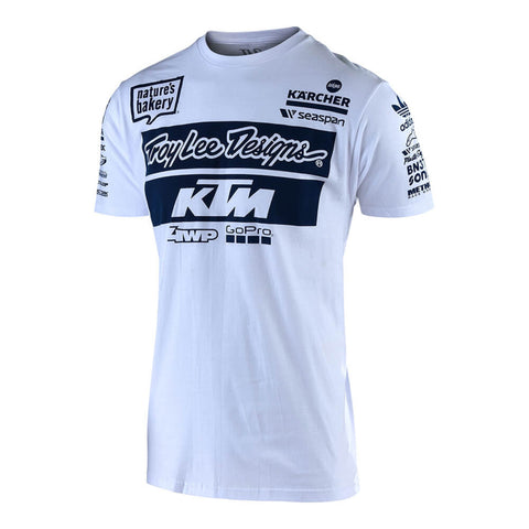 Troy Lee Designs Men's 2019 TLD KTM Team Graphic T-Shirt