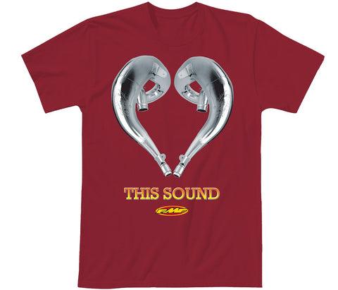 FMF Racing Men's Love This Sound 2 Graphic T-Shirt