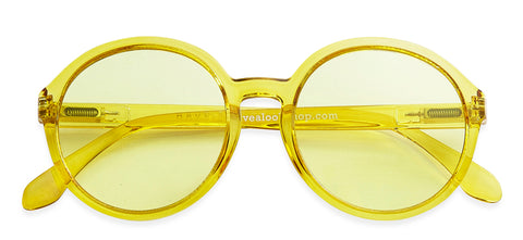 Diva sunglasses in Lemon Yellow - Limited edition by Have A Look