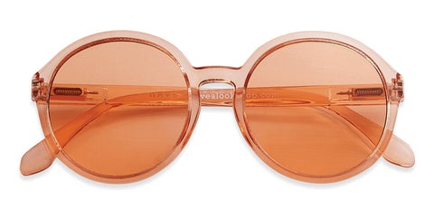 Diva sunglasses in Melon Orange - Limited edition by Have A Look