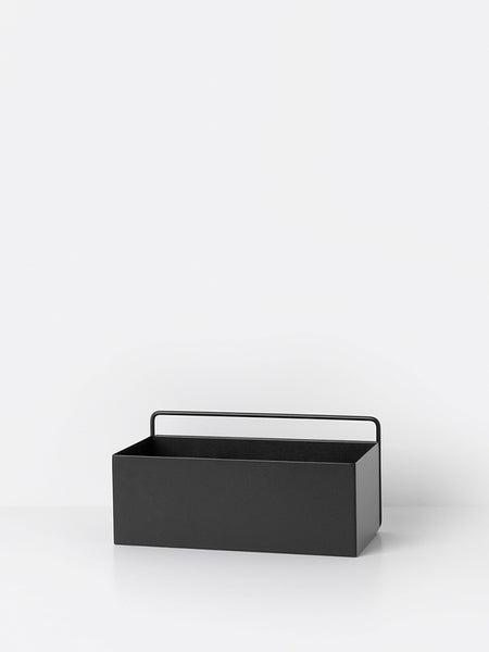 Wall box rectangle in black by ferm LIVING