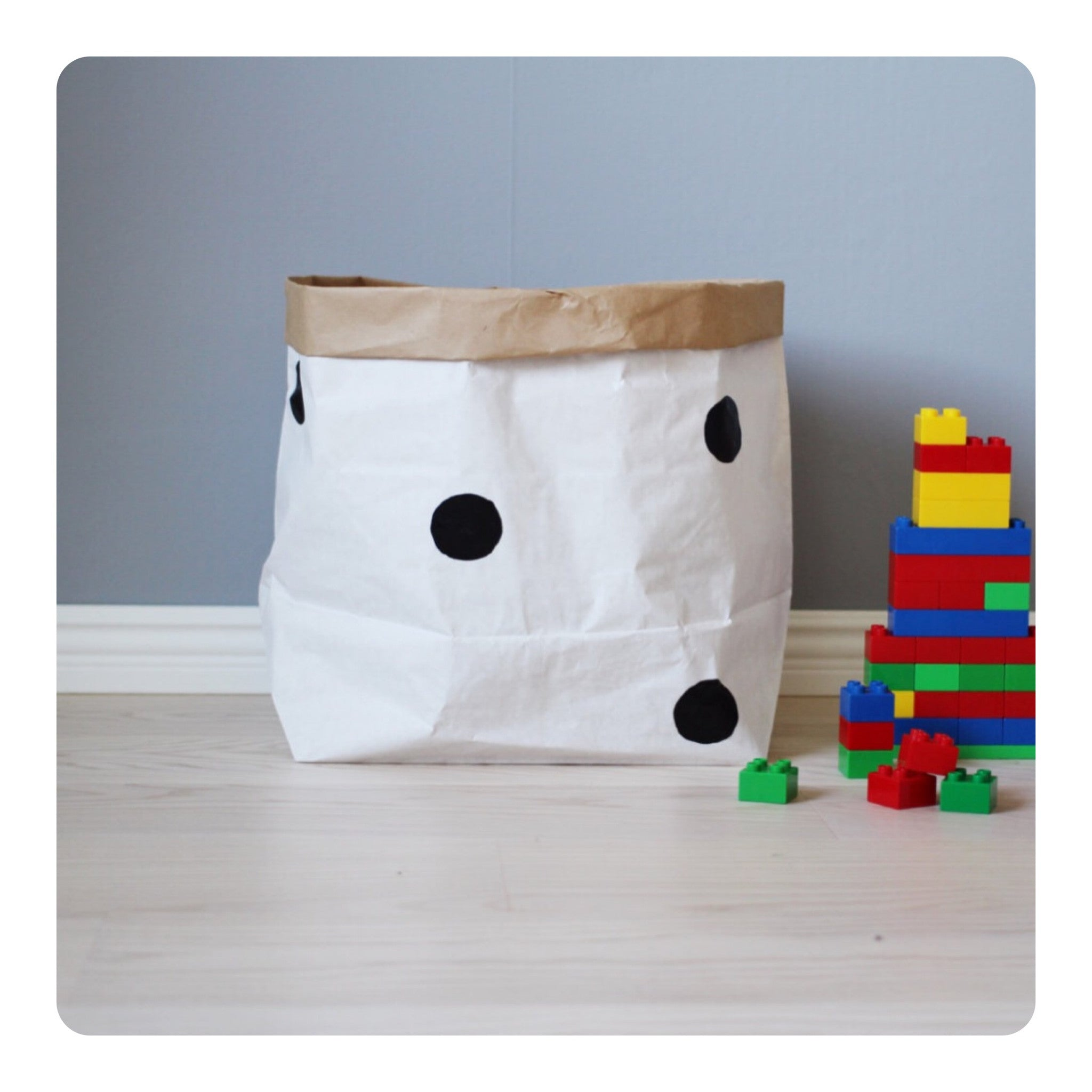 Tellkiddo Dots Small Paper Bag