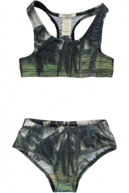 Popupshop Palm Racer Swimsuit