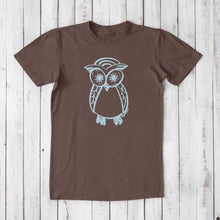 OWL T shirt | Men's Graphic Tee | Trendy T shirts | Eco Clothing