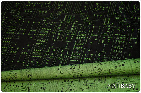 Natibaby Circuits Exclusive Woven Wrap