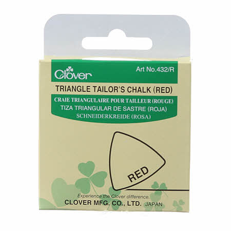 Triangle Tailor's Chalk Pink/Red