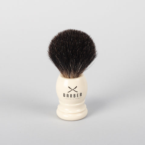 Barber Brush Pure Badger